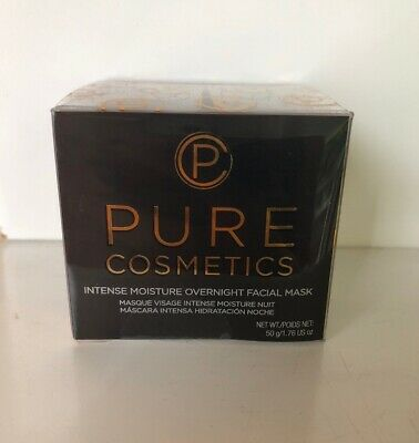 Pure Cosmetics Intense Overnight Moisture Mask 1.76 Oz