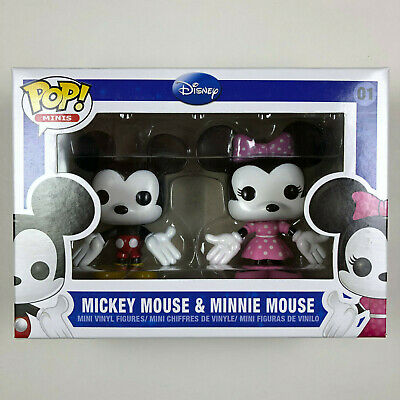 Funko POP - Minis - Disney - MICKEY & MINNIE MOUSE - 2 pack - NEW # 01