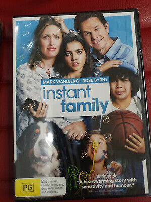 instant family dvd (new and sealed)