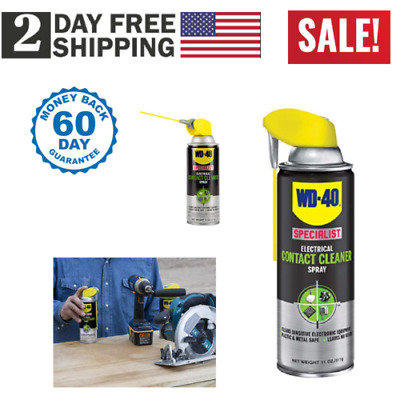 WD-40 ELECTRICAL CONTACT CLEANER SPRAY Special Electronic
