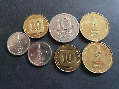 Israel 1980 - 2010 coin lot