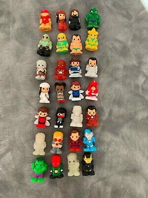 OOSHIES Marvel Series 1-4 rare and Common