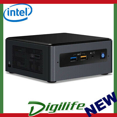 "Intel NUC NUC8I5BEH i5-8259U 2.5"" & M.2 HDMI TunderBolt3 USB-C Wireless-AC"