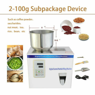 New Powder & Particle Weighing and Filling Machine Subpackage Device 2-100g