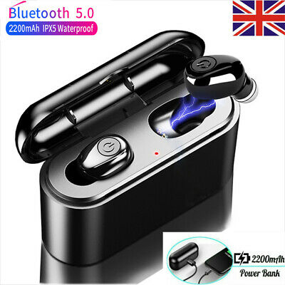 X8 TWS True Bluetooth 5.0 Headphones Wireless Stereo Earbuds Headset &Power Bank