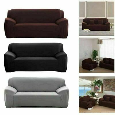 2/3/4 Seaters Sofa Cover Slipcover Stretch Elastic Couch Furniture Protector Fit