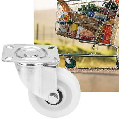 """4pcs 4"""" Steel+PP Rigid Caster Muted Swivel Caster Wheel for Medical Trolley etc."""