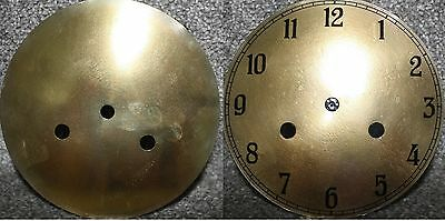 "Vintage 6"" clock face/dial Arabic numeral number restore/renovation wet transfer"