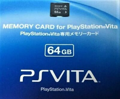 SONY GENUINE Playstation PSV PS Vita Memory Card 64GB Formatted and confirmed
