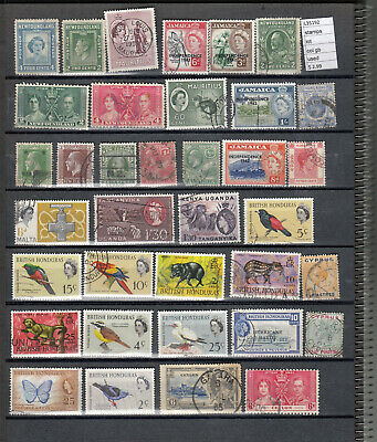 Stamps  Lot British Colonies Used  (L35192)