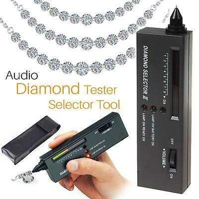 Diamond Tester Moissanite Selector Gemstone Jewelry Gems Tool Black FW3 UK