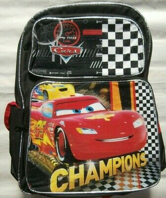 Brand New Kids Backpack Cars The Lightning Mcqueen School Bag - Extra Large