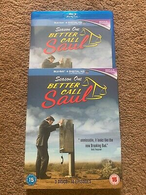 Better Call Saul Season 1 [Blu-ray] NEW  But Not Sealed. Immaculate With Sleeve