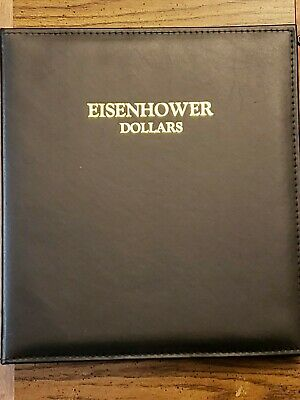 Caps Eisenhower Dollar Coin Album For Air-Tite Capsules 2159