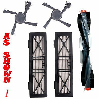 Vacuum Cleaner Accessories Set Side/Roller Brush for Neato Botvac BV 70/75/80/85