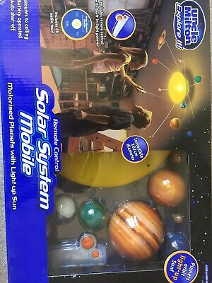 3-D SOLAR SYSTEM Ceiling Hanging Planets Science Learn Kids