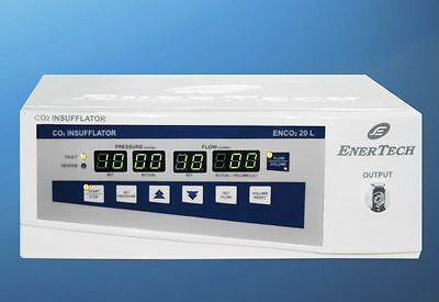 CO2 INSUFFLATOR 20 ltr. with Air  Feather Touch, Digital System Machine FGUB