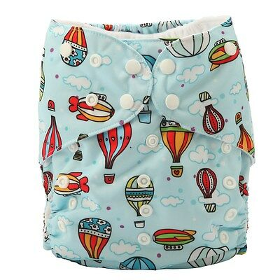 2 to 7 years BIG Cloth Diaper Nappy Pocket Reusable Junior Baby Toddler Balloon
