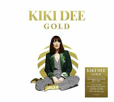 KIKI DEE GOLD 3 CD (Very Best Of / Greatest Hits) (Released May 24th 2019)