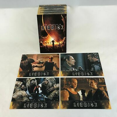 The Chronicles of Riddick - Complete Card SET (72) 2004 - NM
