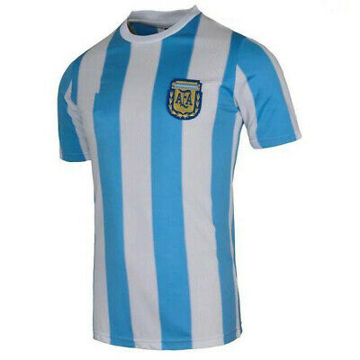 1986 Argentina Retro Vintage Classic 1986 Football Soccer Shirt