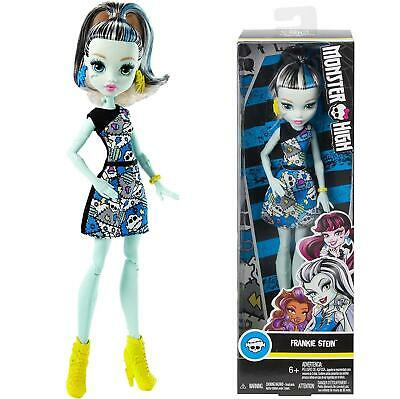 Monster High Frankie Stein Doll Ghouls Skullette Scary Cool Posing Mattel DMD46