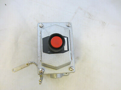 Crouse Hinds Edsc2184 Explosion Proof Stop Push Button Station