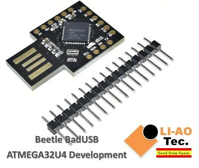 Beetle Keyboard BadUSB USB ATMEGA32U4 5V/16MHz Pro Micro Mini Development Board