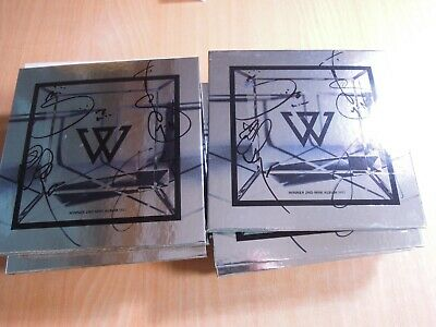 Winner - We (2nd Mini Promo) with Autographed (Signed)