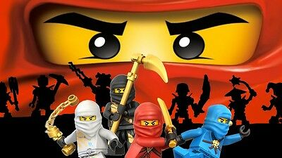 Lego Ninjago Photo Paper Wall Sticker Wall Decals