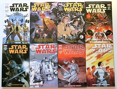Star Wars Vol. 1 2 3 4 5 6 7 & 8 Marvel Graphic Novel Comic Book Lot
