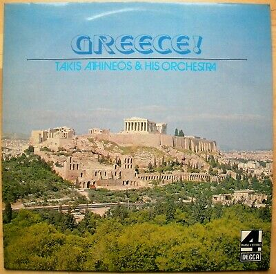 Vinile Lp 33 Giri Greece! Takis Athineos His Orchestra Nm Near Mint Rarissimo
