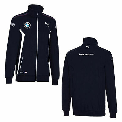BMW Motorsport Team Herren Jacke - Sweat - Jacket - Navy - Men - Größe: XL
