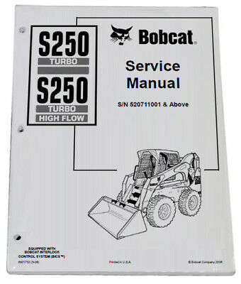 electrical diagram, 753 bobcat s250 s300 skid steer loader with acs electrical  wiring     on bobcat 873