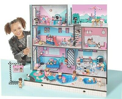 LikeNew LOL Surprise Doll House 85 Surprises 3' Lights Sounds  Free Shipping 🚛