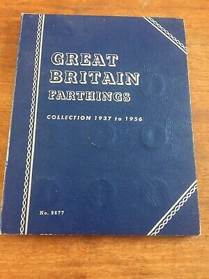 Great Brutish Farthing Collection 1937 To 1956