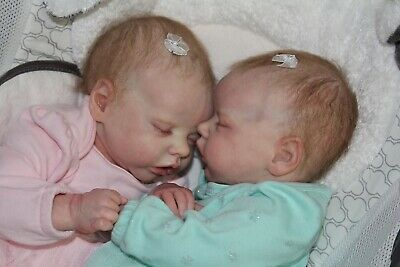 Reborn Baby~CUSTOM TWIN A Or TWIN B By B Brown~Professional~Very Realistic Work