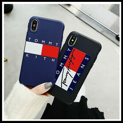 best sneakers 6bf64 07546 TOMMY HILFIGER IPHONE case iPhone 6 / 7 / 8 / 8 Plus iphone X XS XR ...