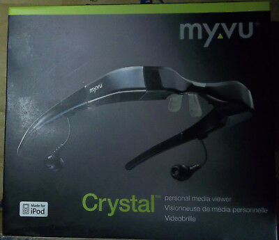 Myvu Crystal Personal Media Viewer Wearable Video Display Made for iPod- 2 Color