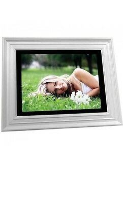 Visionquest 12 Inch 256MB LCD Digital Photo Frame With Stereo Speakers & REMOTE