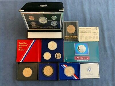 Variety Lot of United States Commemorative's w/COA's - Free Shipping USA