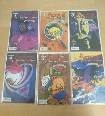 MINT Kaboom! Adventure Time Candy Capers (#1-6) cover varient A comics