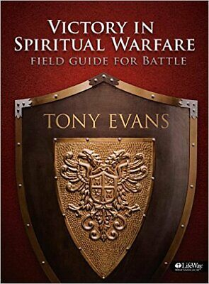 VICTORY IN SPIRITUAL WARFARE By Tony Evans - Hardcover *Excellent Condition*