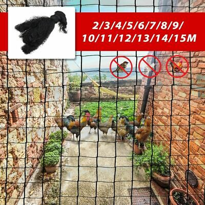 Nylon Mesh 3x2-15m Garden Bird Net Netting Vegetables Pest Plant Crops Protect