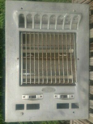 Markel Register NEO-GLO Grate Heater 115/1250 Front16.75x12 Back 13.75x10.5