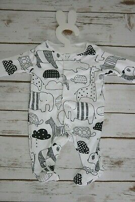 New Baby Unisex Babygrow First Size Newborn Baby Boys Girls Sleepsuit Ex Store