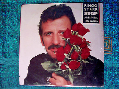 Ringo Starr Record Stop And Smell The Roses 1981 Sealed Copy Album Lp