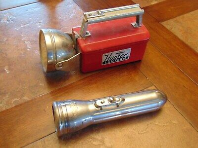 LOT (6) VINTAGE Flashlights Lanterns For Parts or Repair