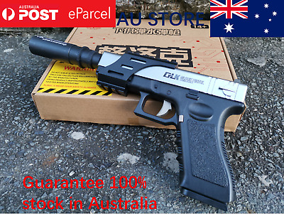 Rx Glock 18 Gel Blaster Pistol Manual Mag Fed Gel Gun 100% Aus