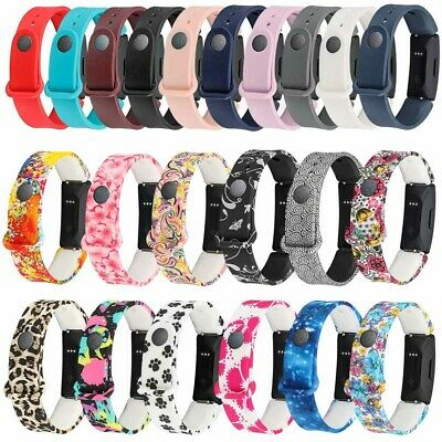 For Fitbit Inspire / Inspire HR Replacement Silicone Sport Wristband Strap Band